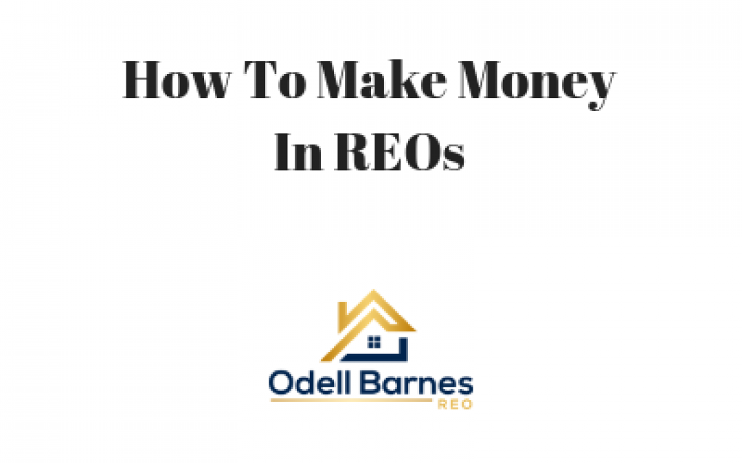 How To Make Money In REOs