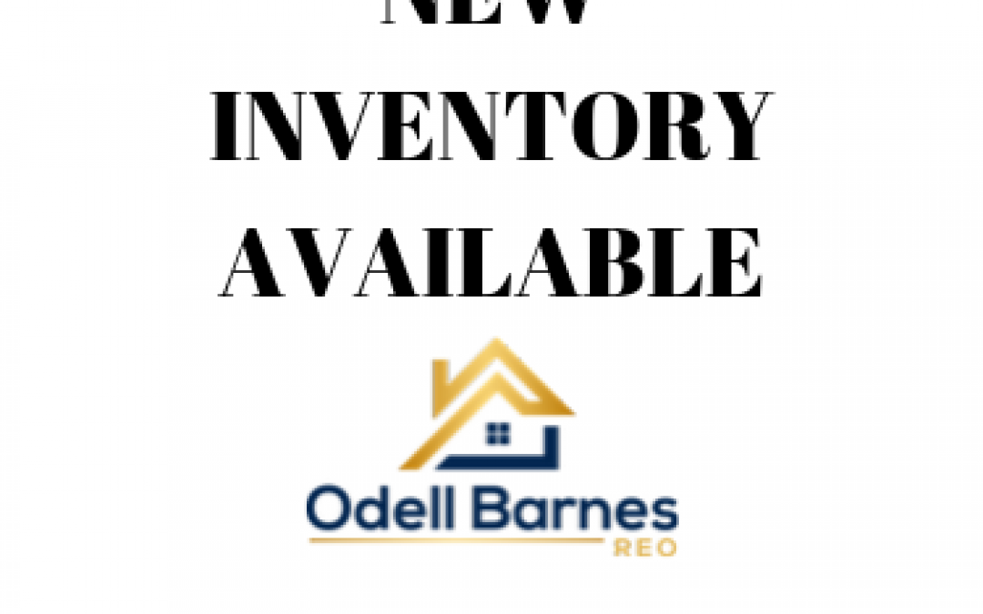 New Inventory October 2019