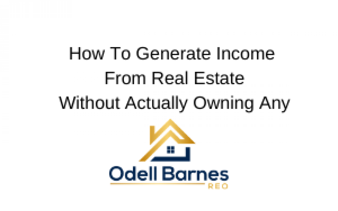 Benefiting From Real Estate Investing Without Owning a Single Property